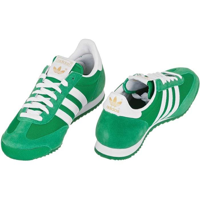 buty adidas dragon zielone