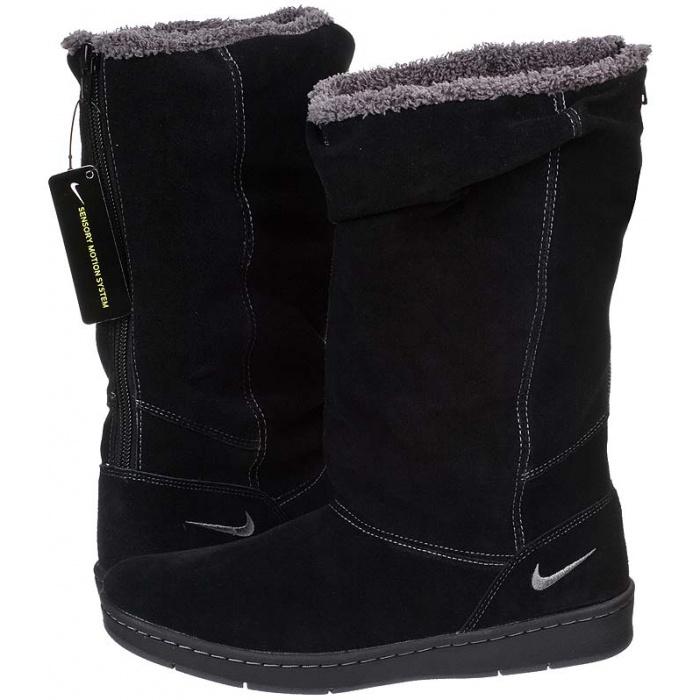 Damskie Nike Sneaker Hoodie Szary