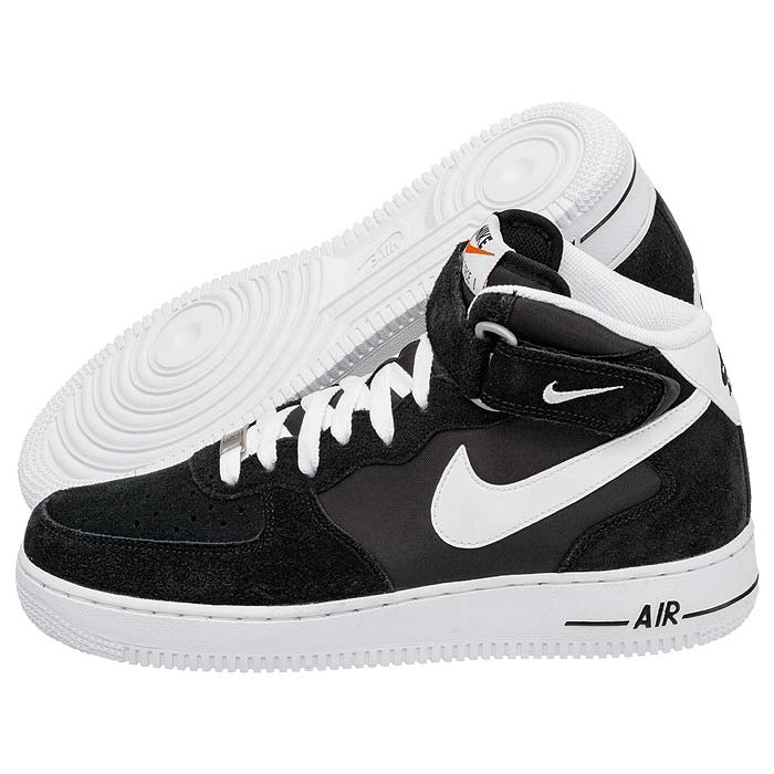 nike air force 1 mid 07 czarne