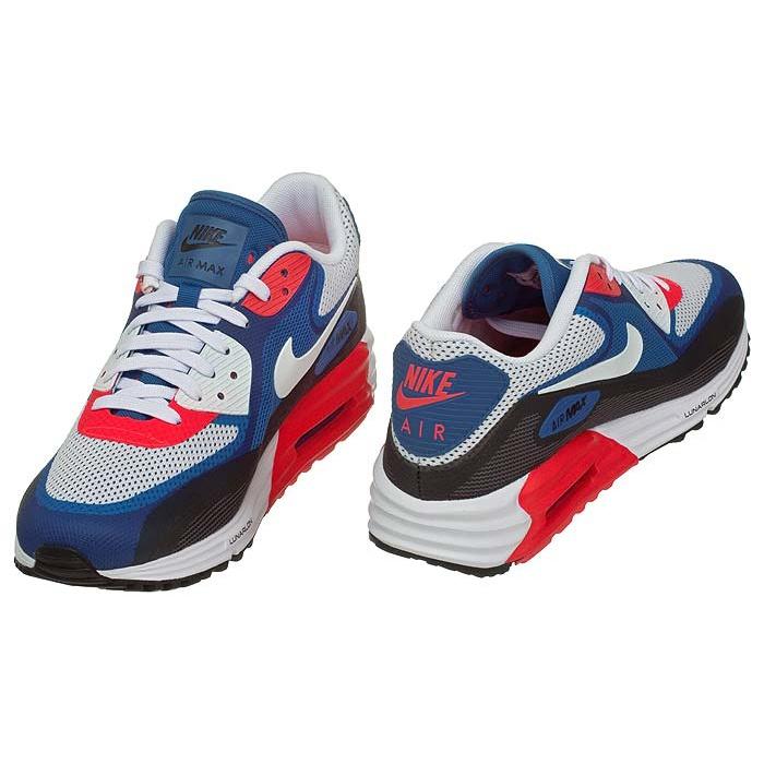 Nike Air Max Lunar 90 C3.0 631744 004 czerwono niebieski