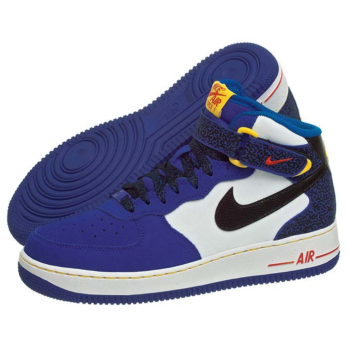 low priced 55ab6 9840a Buty Nike AIR Force 1 Mid (GS) 314195-403