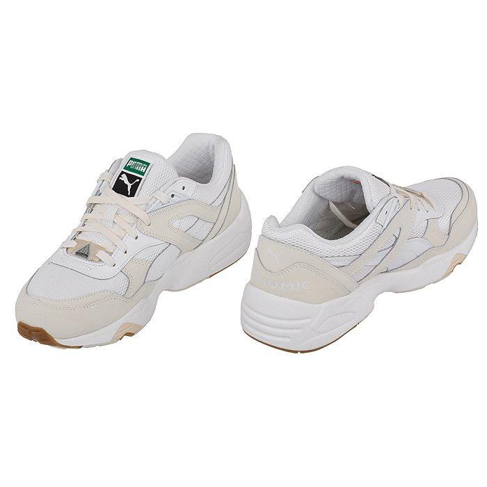 Półbuty PUMA Trinomic R698 White On White 358142 01 White