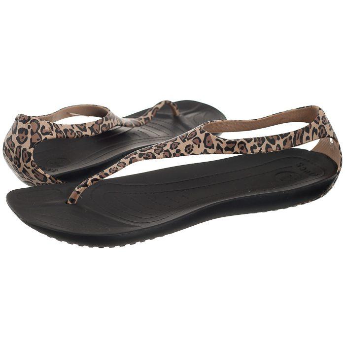 nowe niższe ceny największa zniżka sklep internetowy Sandały Crocs Sexi Wild Flip Black/Gold 15539-072 w ButSklep.pl