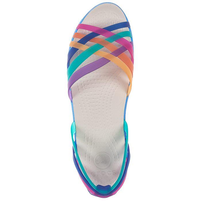 Sandały Crocs Huarache Flat MultiCerulean Blue 14121 95P w