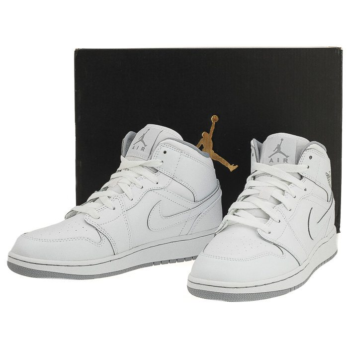 Buty Nike Air Jordan 1 Mid BG 554725 112 w ButSklep.pl