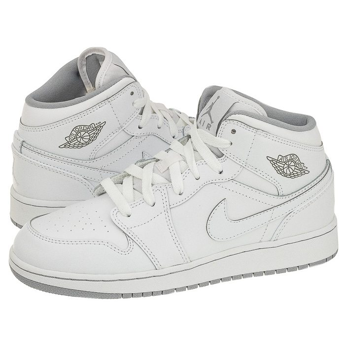 new collection 2018 sneakers cheap for discount Buty Nike Air Jordan 1 Mid BG 554725-112 w ButSklep.pl