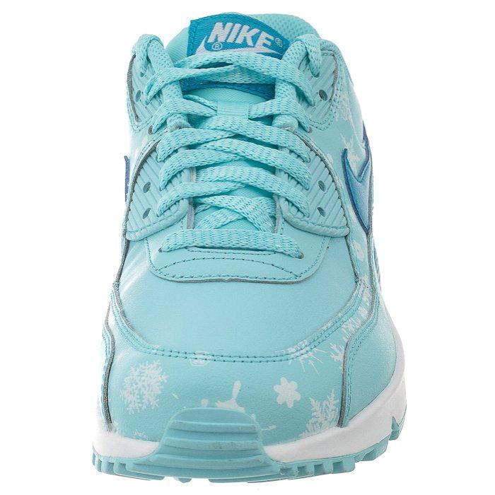 Buty Nike Air Max 90 PREM LTR (GS) 724871 400 (NI664 a)