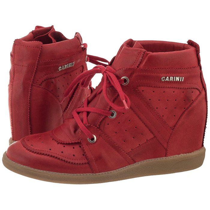 Sneakersy Carinii Beżowe B3509 w ButSklep.pl