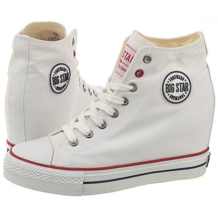 6345a4bd Sneakersy Big Star Białe U274904 w ButSklep.pl