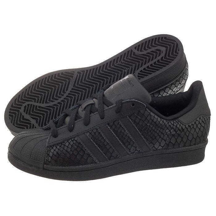 adidas superstar zamszowe czarne