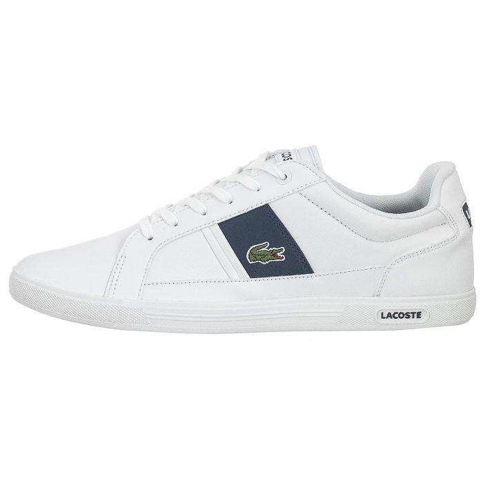 popularna marka 50% zniżki wyprzedaż w sklepie wyprzedażowym Buty Lacoste Europa LCR3 SPM WHT/DK BLU 7-31SPM0097X96 w ...