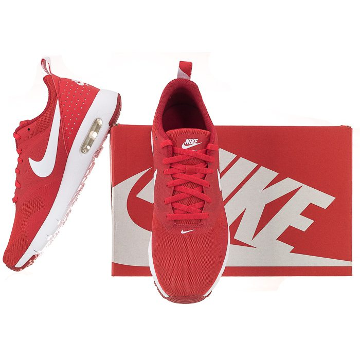 finest selection 1d2e0 09a5b nike air max tavas czerwone damskie