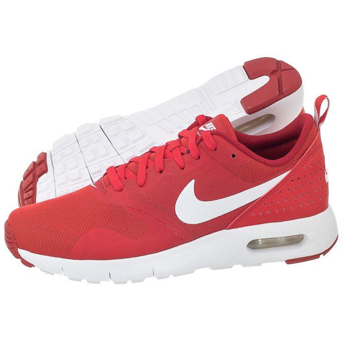 Nike Air Max Tavas GS 814443 601 | White, Red ⋆ EN Distance.eu
