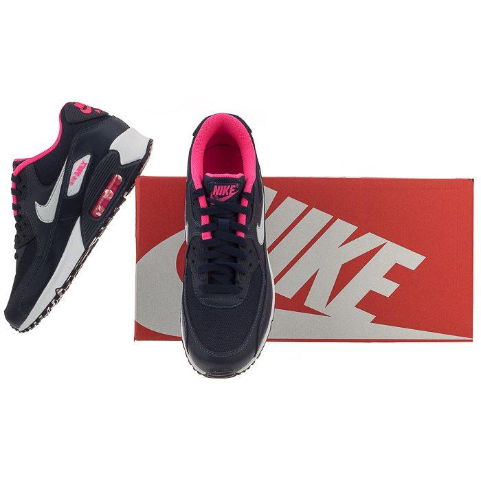 Buty Nike Air Max 90 Mesh (GS) 724855 400 (NI587 e) Ceny i
