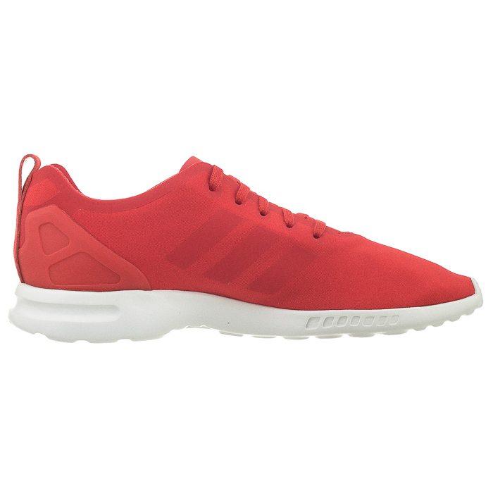 adidas zx flux smooth damskie czerwone