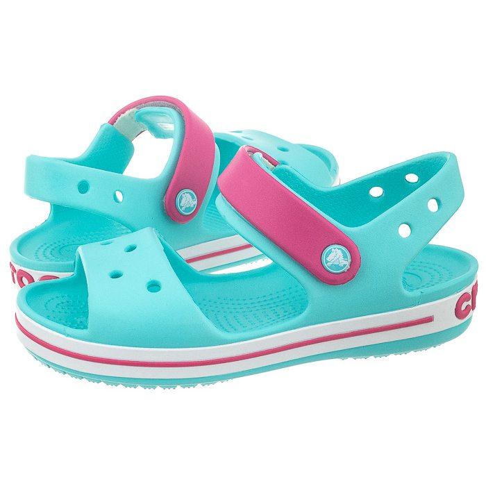 pierwsza stawka wielka wyprzedaż uk zamówienie online Sandałki Crocs Crocband Sandal Kids Pool 12856-4FV w ButSklep.pl