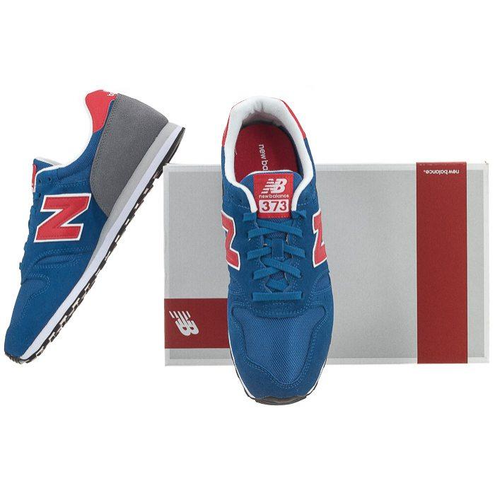 Buty New Balance ML373ROR Niebieskie w ButSklep.pl