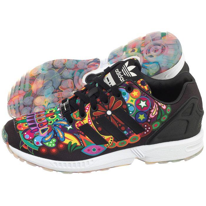 buty adidas zx flux damskie kolorowe