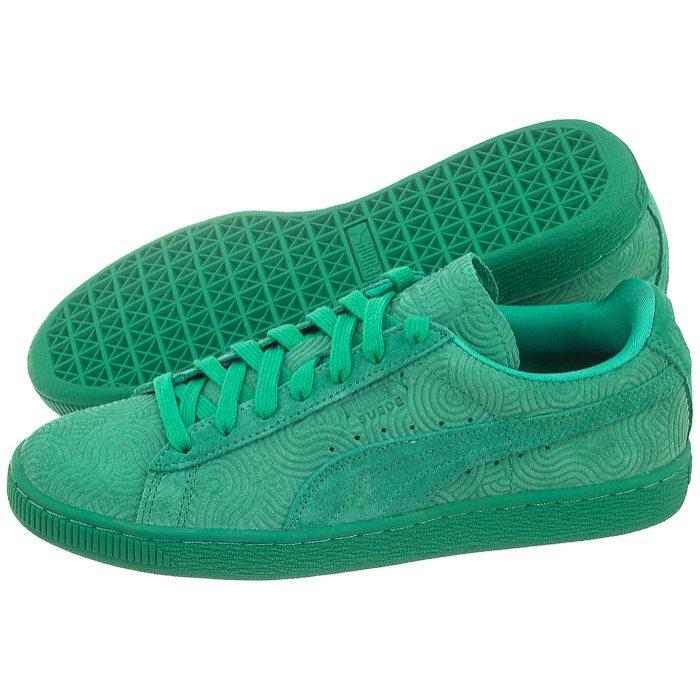 buty puma damskie zielone