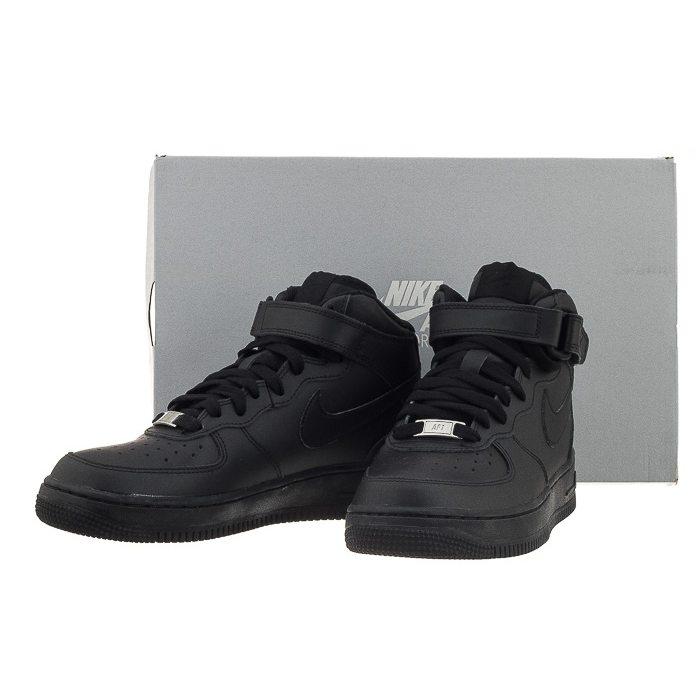 Buty Nike AIR Force 1 Mid (GS) (NI408 b)