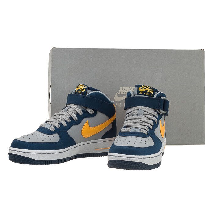 Buty Nike AIR Force 1 Mid (GS) 314195 027 (NI408 d)