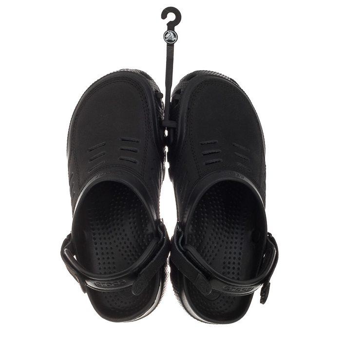 Klapki Crocs Yukon Sport Men Black 10931 w ButSklep.pl