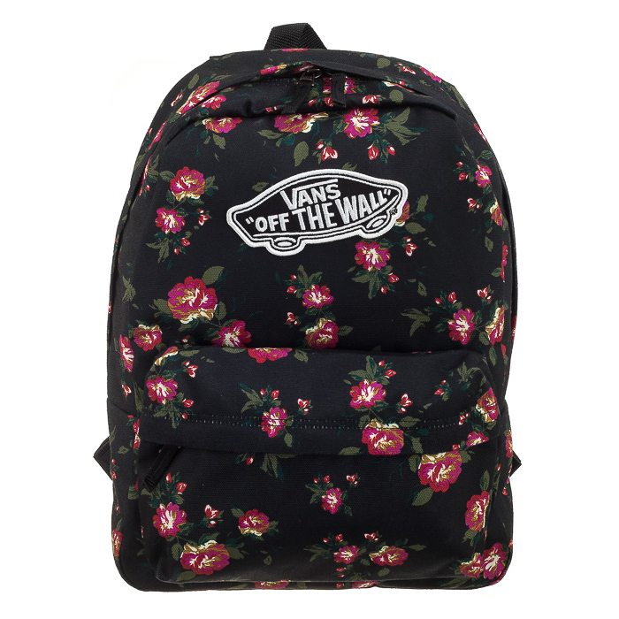 54b5f97c2c756 Plecak Vans Realm Backpack Floral Black V00NZ0KS6 w ButSklep.pl