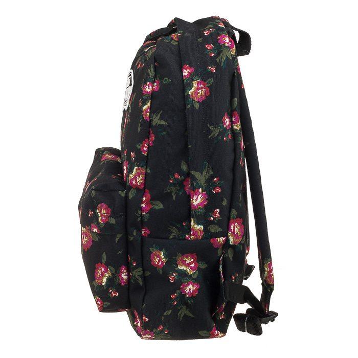 Plecak Furgonetas Ámbito Mochila Negro Floral IbHXo