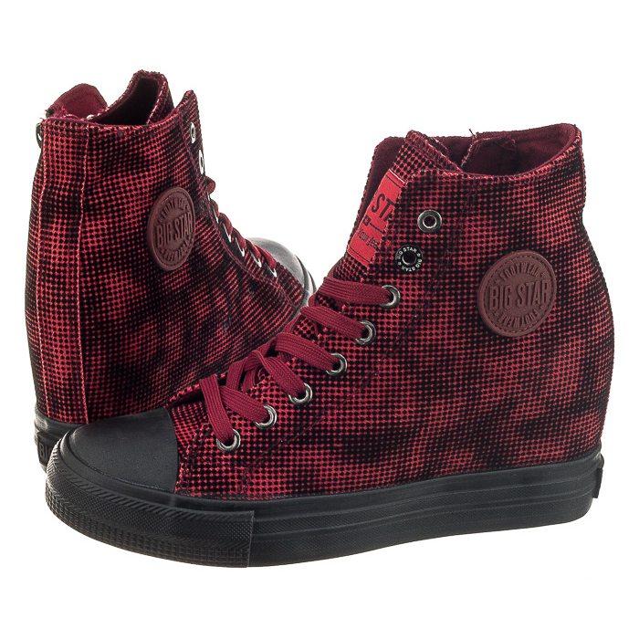 40082b51b Sneakersy Big Star Czerwone V274939 w ButSklep.pl
