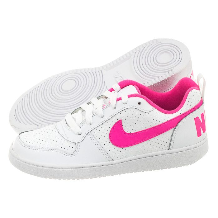 nike court borough low pink