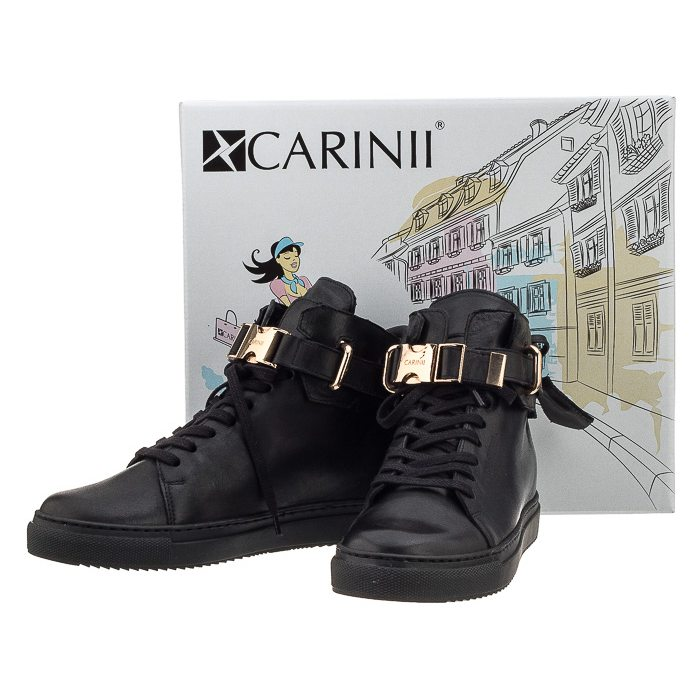 Sneakersy Carinii B3770 Czarny