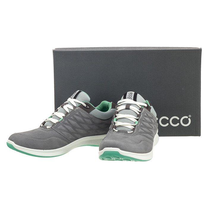 Buty Sportowe Ecco Exceed Szare 870003 02244 w ButSklep.pl
