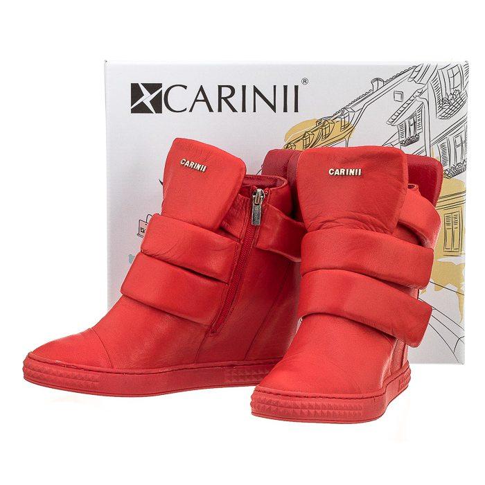 Sneakersy Carinii Czerwone B3493 w ButSklep.pl