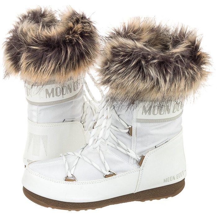 cba40556 Śniegowce Moon Boot W.E. Monaco Low White 24002900002 w ButSklep.pl