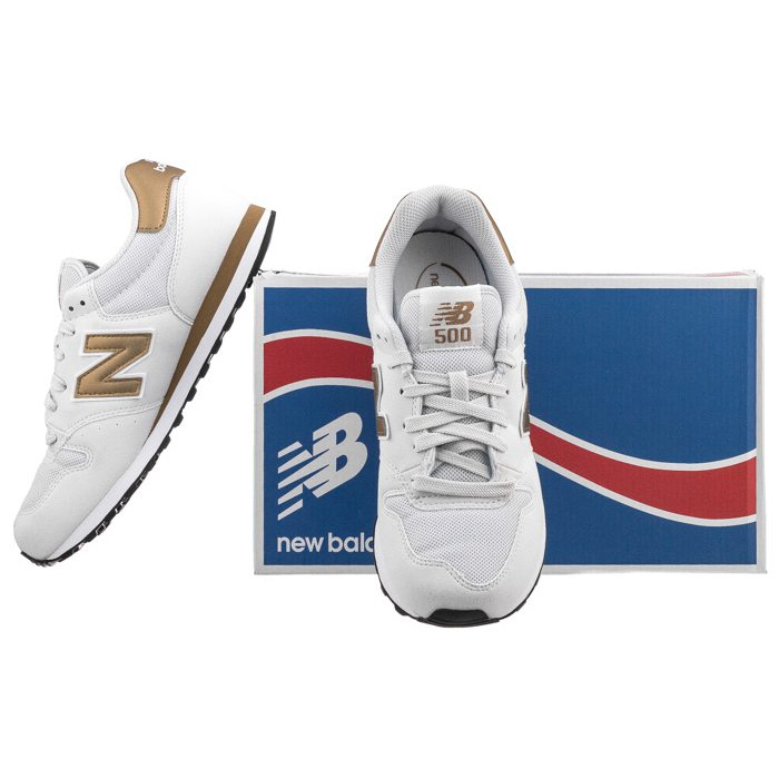 new balance 500 biale