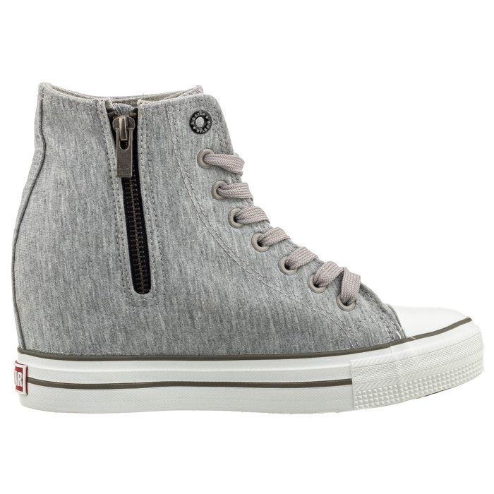 Sneakersy Big Star Szare W274658 w ButSklep.pl