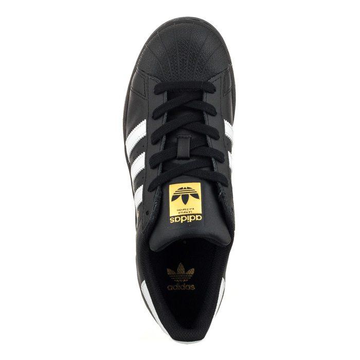 Buty Klasyczne Adidas Damskie Superstar Foundation J w Biały