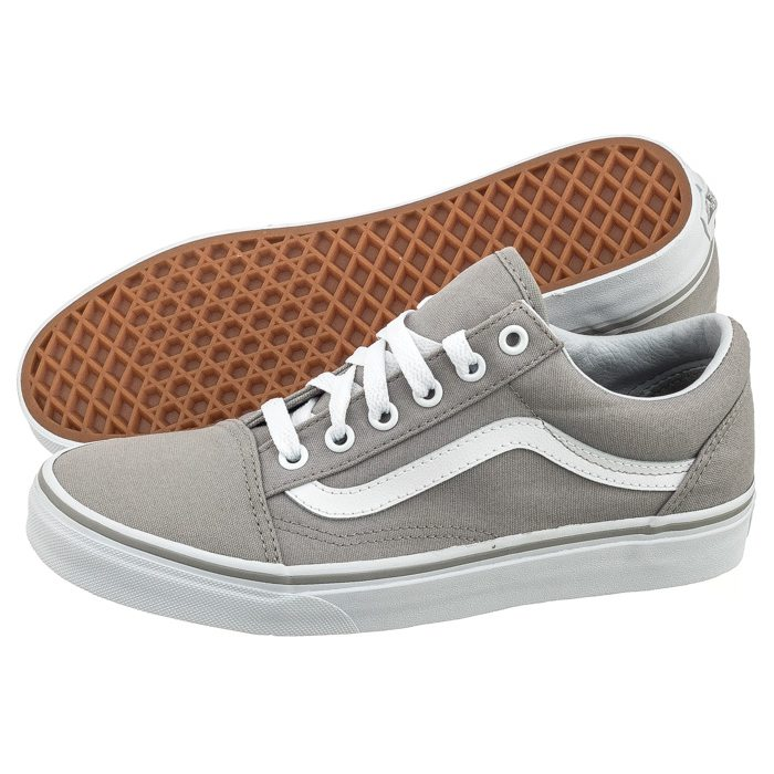 vans old skool damskie siwe