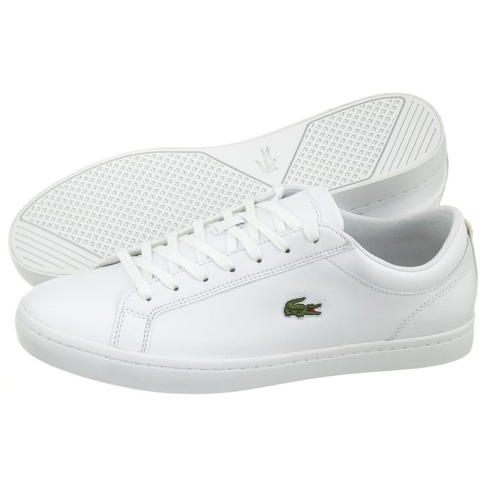 Buty Lacoste Straightset BL 1 CAM WHT 7-33CAM1070001