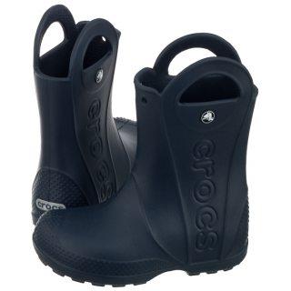 Kalosze Crocs Handle Rain Boot Kids Navy 12803 410 w ButSklep.pl