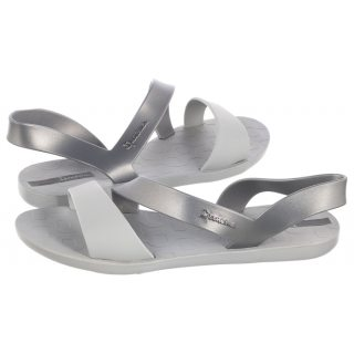 870147f3ea52c Sandały Ipanema Vibe Sandal Fem 82429 23998 Grey Silver