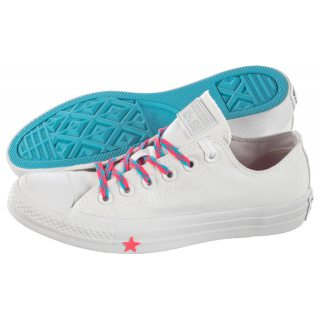 100475d41d908 Trampki Converse CT All Star OX White/Racer Pink 564117C